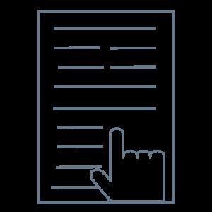 logo relecture bleu gris